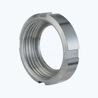 Sanitary RJT-13R slotted round nuts
