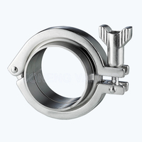 Sanitary Triclamp ferrules complete