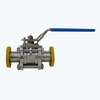 Sanitary high pure 3PCS ball valves