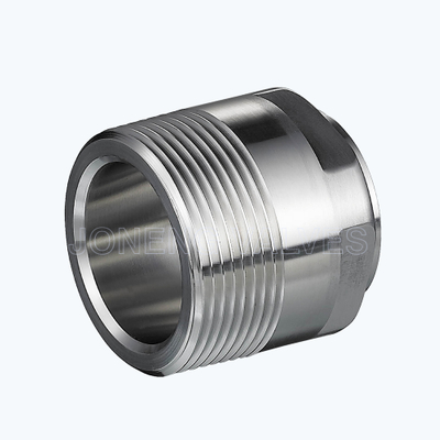 Sanitary 19WBF male-welded pipe adapters